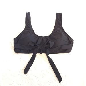 Other - Womans black tie front swimsuit top xlarge 16